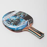 Ракетка для настольного тенниса 1 штука DONIC LEVEL 700 MT-754197 TOP TEAM (древесина, резина), фото 1