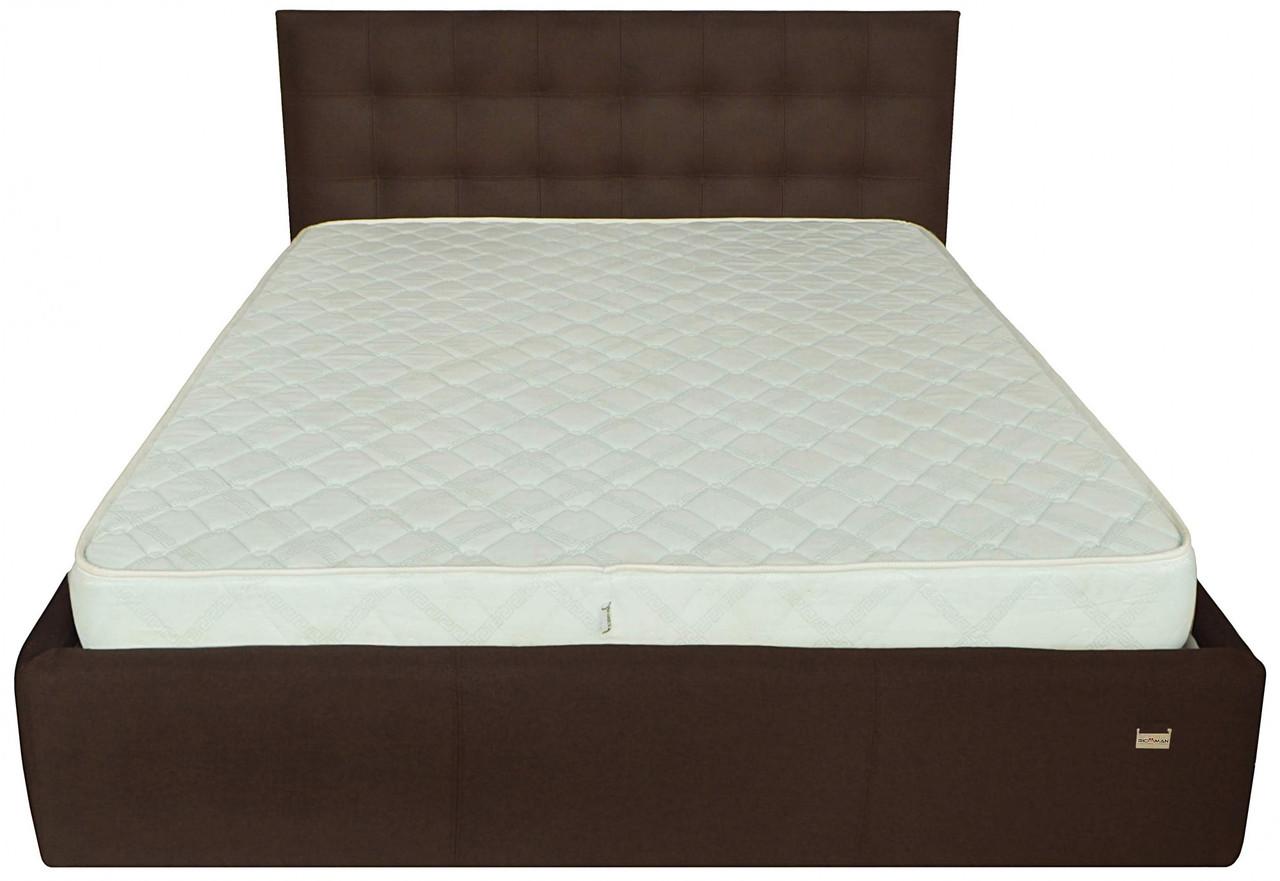 Кровать Richman Честер 120 х 190 см Suarez 1010 С подъемным механизмом и нишей для белья Коричневая