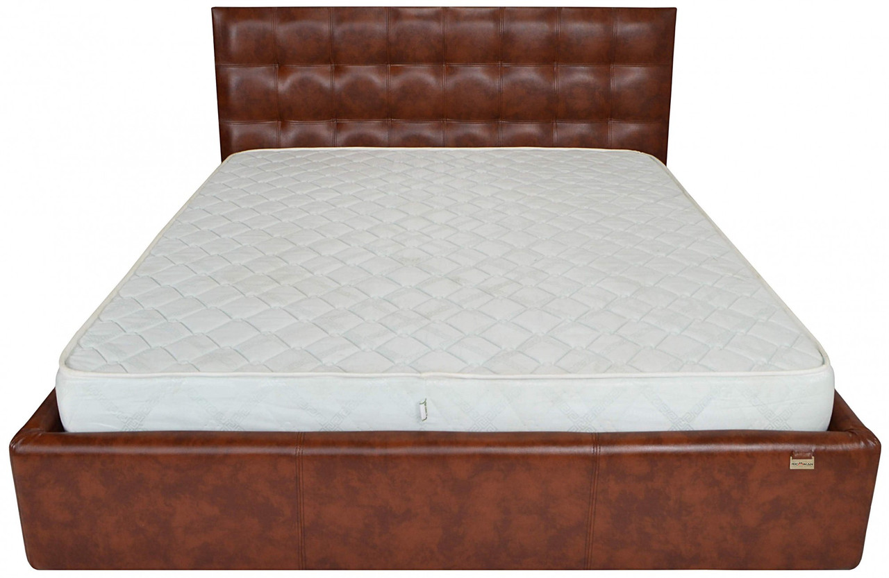 Кровать Chester Standart 120 х 190 см Мадрас Whisky Коричневая