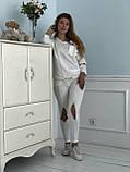 Турецкий белый спортивный костюм RAW, фото 3