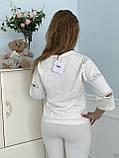 Турецкий белый спортивный костюм RAW, фото 6