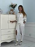 Турецкий белый спортивный костюм RAW, фото 7