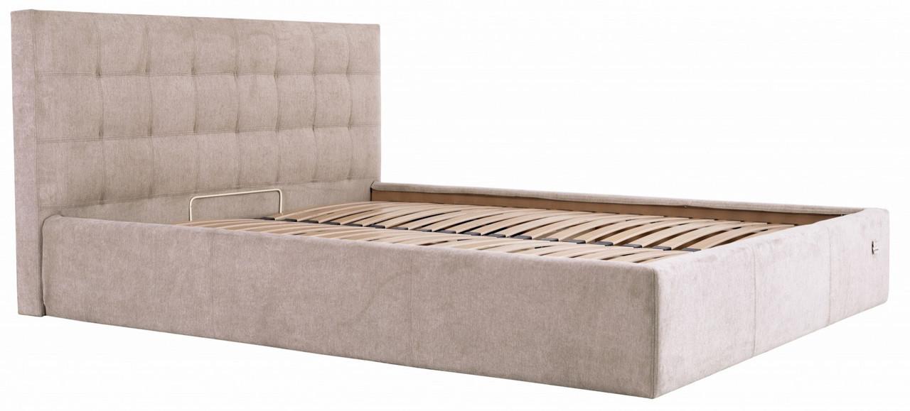 Кровать Richman Честер 140 х 190 см Мисти Mocco Серая