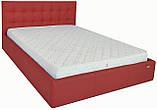 Кровать Richman Честер 140 х 190 см Флай 2210 С подъемным механизмом и нишей для белья Красная, фото 3