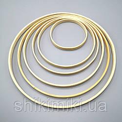 Кольцо бамбуковое для макраме, 23 см