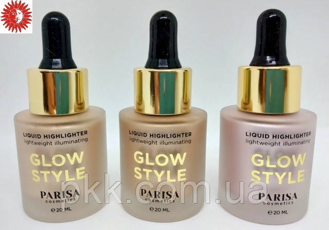 Хайлайтер для лица PARISA COSMETICS LIGHTWEIGHT ILLUMINATING жидкий PH-03 01 Shampagne