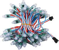 12мм светодиодый модуль RGB WS2811, 5В, герметичный, сборка 50шт