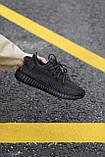 Стильні кросівки Adidas Yeezy Boost 350 V2 Black REFLECTIVE (Адідас Ізі Буст 350 РЕФЛЕКТИВ), фото 2
