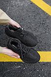 Стильні кросівки Adidas Yeezy Boost 350 V2 Black REFLECTIVE (Адідас Ізі Буст 350 РЕФЛЕКТИВ), фото 5