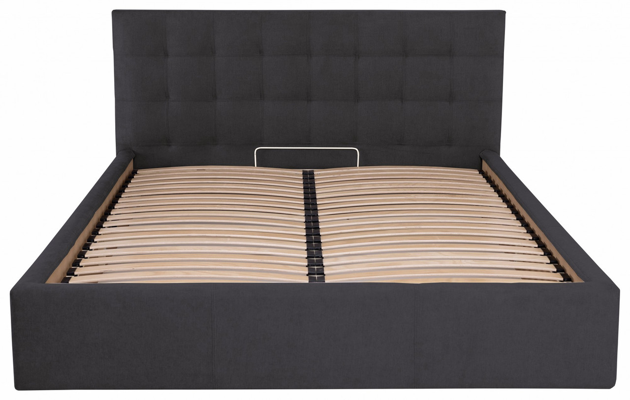 Ліжко Richman Честер 120 х 200 см Місті Dark Grey Темно-сіра (rich00002)