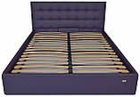 Кровать Richman Честер 140 х 200 см Madrit-0965 С подъемным механизмом и нишей для белья Фиолетовая, фото 2