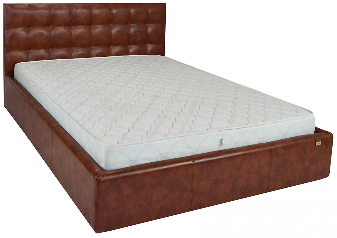 Кровать Richman Честер 140 х 200 см Мадрас Виски (rich00073)