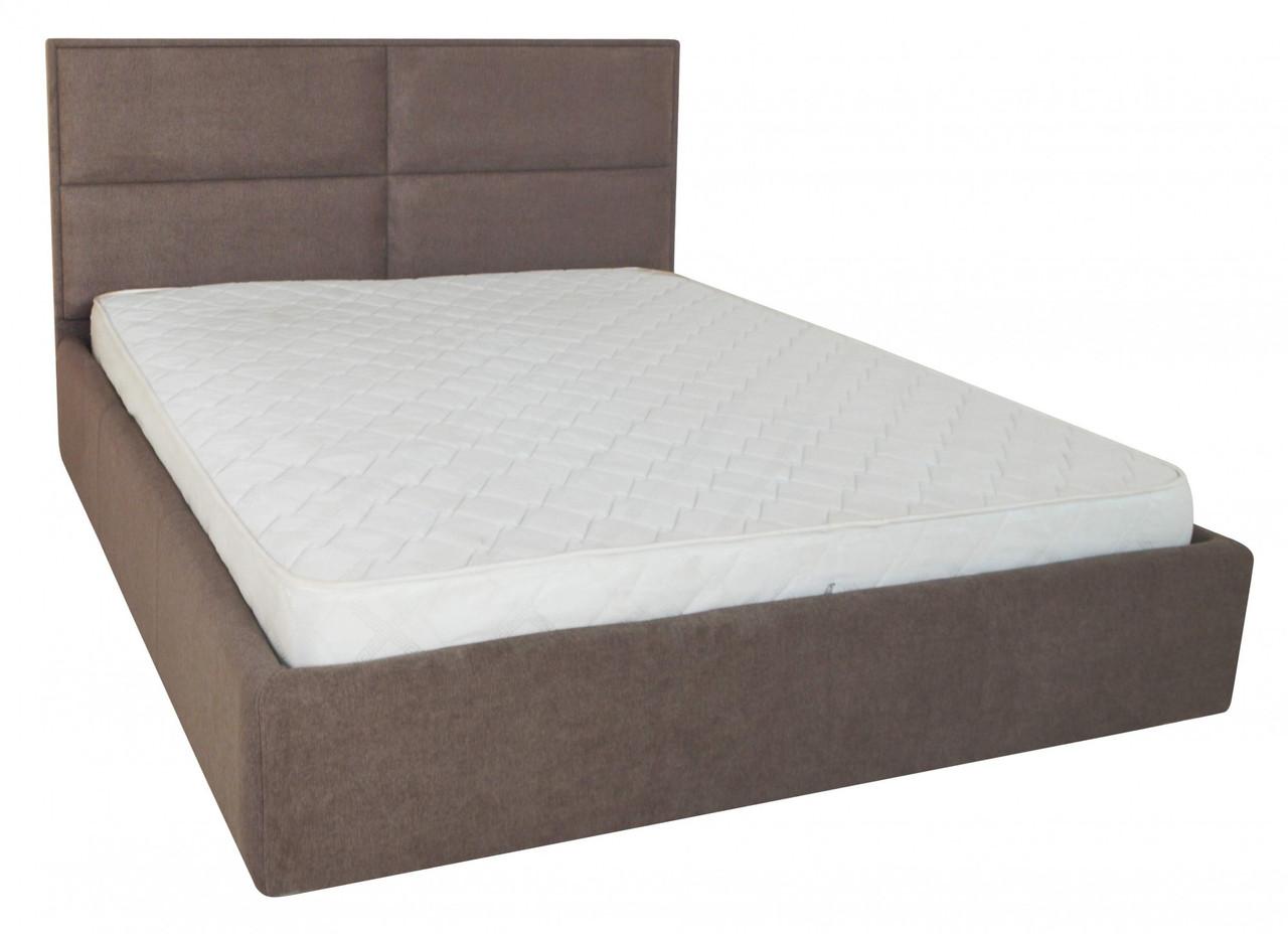 Кровать Richman Шеффилд 120 х 190 см Miss 08 С подъемным механизмом и нишей для белья Коричневая