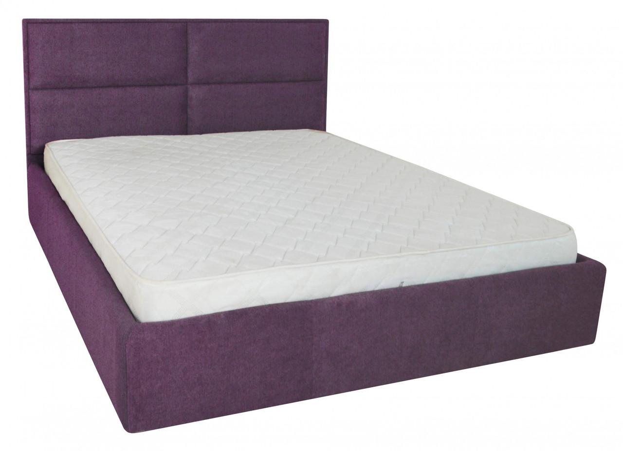 Кровать Sheffield Comfort 120 х 190 см Miss 24 С подъемным механизмом и нишей для белья Лаванда