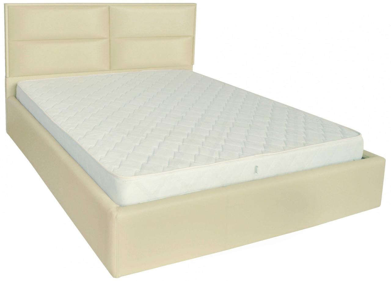 Кровать Sheffield Comfort 120 х 190 см Fly 2207 A1 С подъемным механизмом и нишей для белья Бежевая