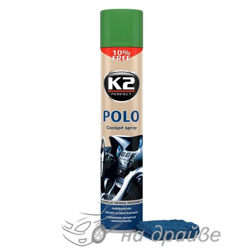 Полироль торпеды Polo Protectant Хвоя 750мл K407SO1 K2
