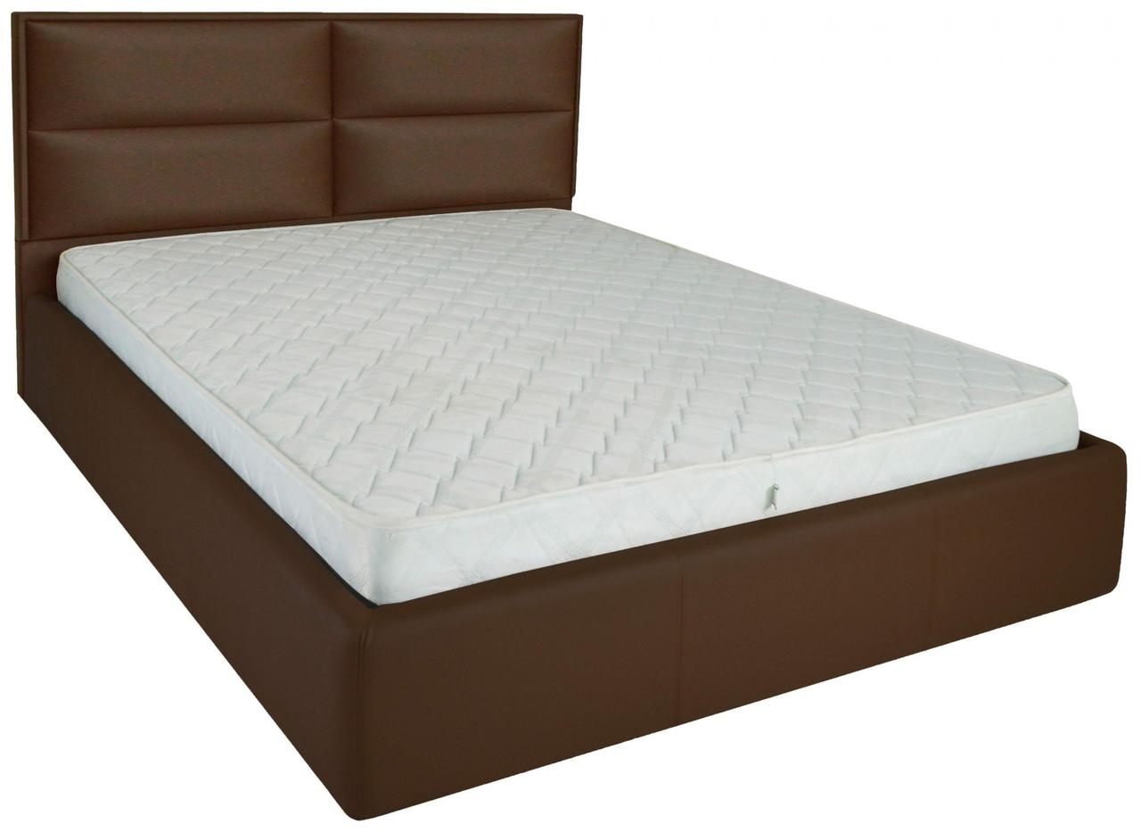 Кровать Sheffield Standart 140 х 190 см Fly 2231 A1 Темно-коричневая
