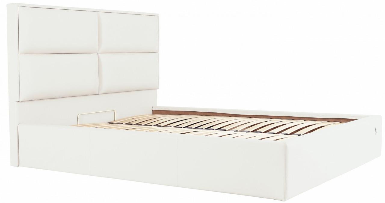 Кровать Richman Шеффилд 140 х 200 см Флай 2200 С подъемным механизмом и нишей для белья Белая