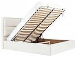 Кровать Richman Шеффилд 140 х 200 см Флай 2200 С подъемным механизмом и нишей для белья Белая, фото 7