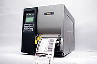 WASP WPL610 б/у, промышленный термотрансферный принтер этикеток наклеек, для Новой Почты, как tsc