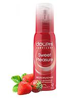 Гель-смазка с ароматом клубники DOLPHI Sweet Pleasure, 100 мл