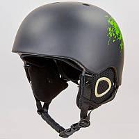 Шлем горнолыжный с механизмом регулировки MOON MS-6289 (PC, p-p S-L-53-61, цвета в ассортименте)