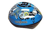 Шлем защитный детский B-Square B2-018 (EPS, PVC, р-р S-XL-50-58, цвета в ассортименте)