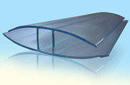 НР-Соеденительный профиль Berolux 6мм прозрачный 3м