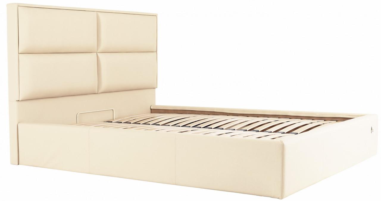 Кровать Двуспальная Richman Шеффилд 180 х 190 см Флай 2207 С подъемным механизмом и нишей для белья Бежевая