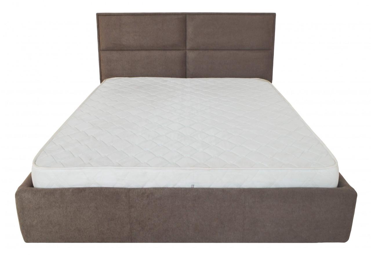 Кровать Двуспальная Richman Шеффилд 180 х 200 см Miss 08 С подъемным механизмом и нишей для белья Коричневая