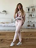 Турецький рожевий спортивний костюм Louis Vuitton, фото 6