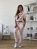 Турецький рожевий спортивний костюм Louis Vuitton, фото 5