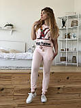 Турецький рожевий спортивний костюм Louis Vuitton, фото 3