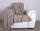 Покрывало вязаное ИНСТА 220х240 капучино Vividzone (бесплатная доставка), фото 9