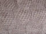 Покрывало вязаное ИНСТА 220х240 капучино Vividzone (бесплатная доставка), фото 2