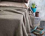 Покрывало вязаное ИНСТА 220х240 капучино Vividzone (бесплатная доставка), фото 6
