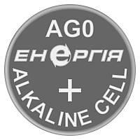 Батарейка часовая щелочная Alkaline AG0 (LR63) Энергия 1.55V