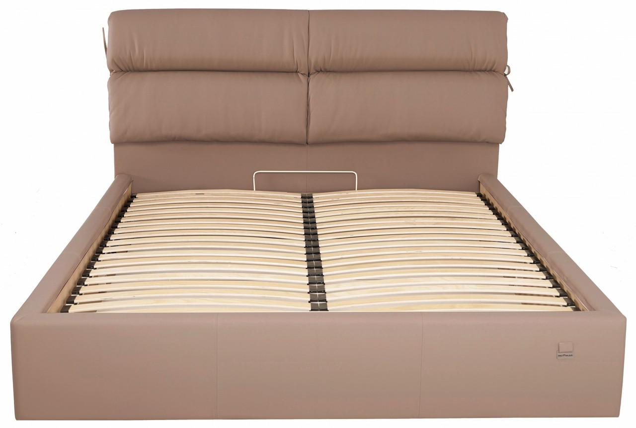 Кровать Richman Эдинбург 140 х 200 см Флай 2213 Светло-коричневая