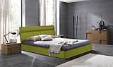 Кровать Двуспальная Richman Эдинбург 180 х 200 см Мисти Dark Grey С подъемным механизмом и нишей для белья, фото 9