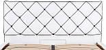 Кровать Двуспальная Richman Мелисса 160 х 190 см Флай 2200 С подъемным механизмом и нишей для белья Белая, фото 6