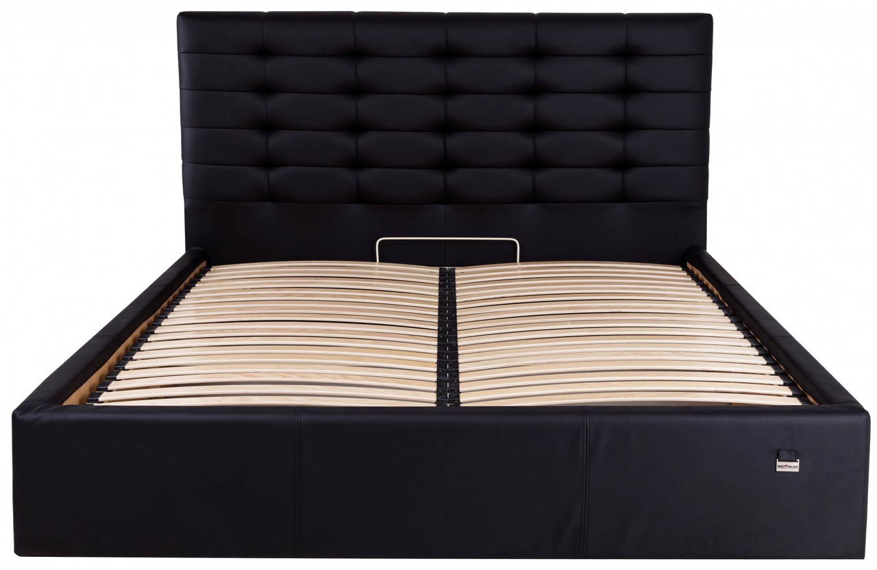 Кровать Richman Эрика 140 х 190 см Флай 2230 Черная