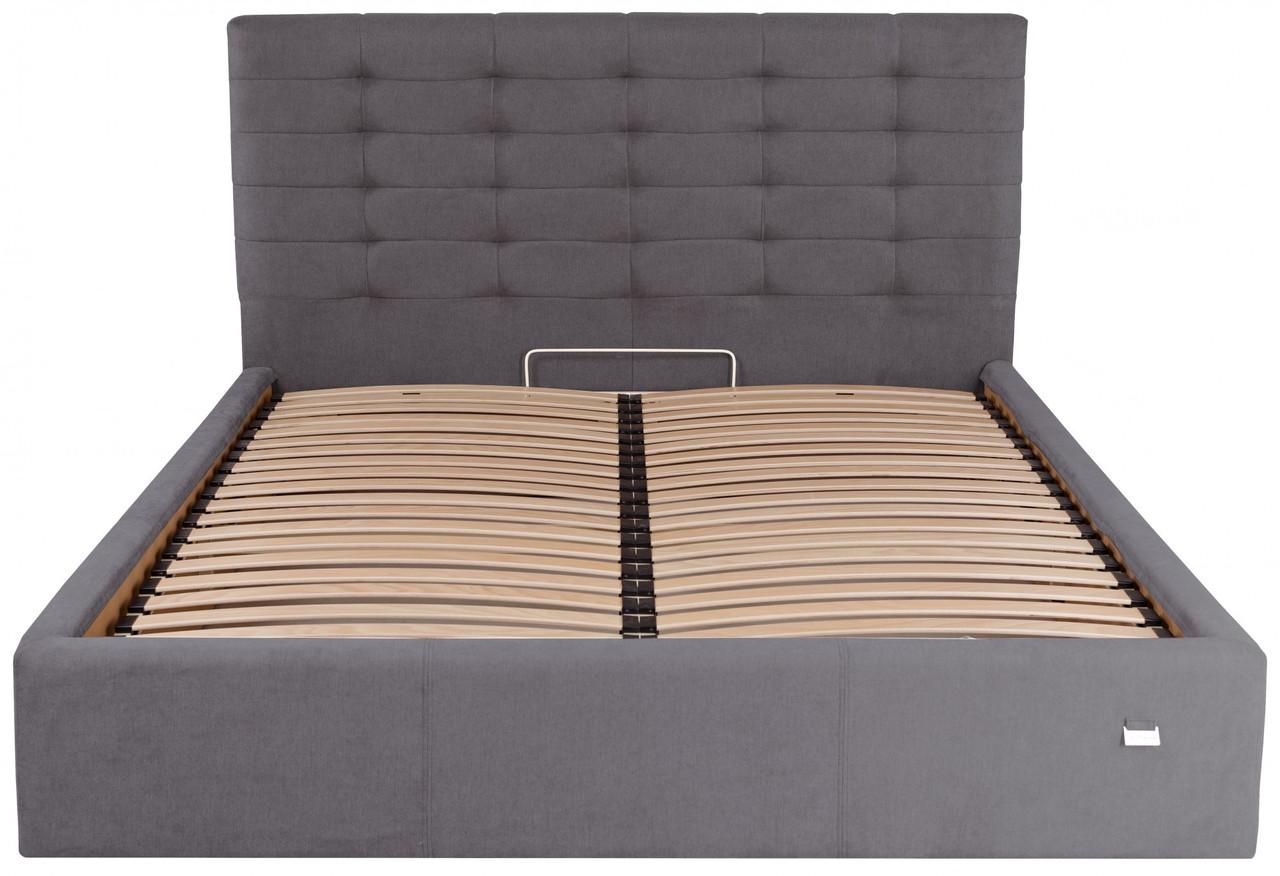 Кровать Richman Эрика 140 х 200 см Мисти Dark Grey Темно-серая