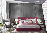 Кровать Richman Эрика 140 х 200 см Мисти Dark Grey Темно-серая, фото 6