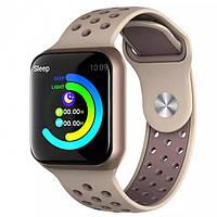Умные смарт часы с функцией многофункционального фитнес-трекера Smart Watch F8 Classic КРАСНЫЙ ЦВЕТ