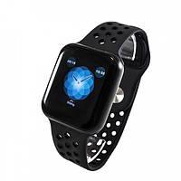 Умные смарт часы с функцией многофункционального фитнес-трекера Smart Watch F8 Classic FULL BLACK