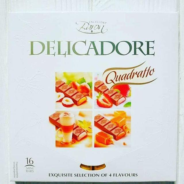 Шоколад Baron Delicadore Quadratto 200 г