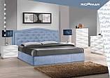 Кровать Двуспальная Richman Скарлетт 160 х 190 см Мисти Mocco Бежевая, фото 8