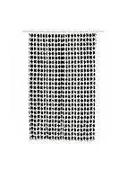 Шторка для ванної Miomare 180х200см Чорний, Білий
