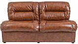Диван Richman Визит Двойка 870 x 1650 x 850H см Мадрас Marrone Коричневый, фото 2