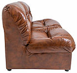 Диван Richman Визит Двойка 870 x 1650 x 850H см Мадрас Marrone Коричневый, фото 3
